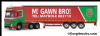 CORGI Cc15812 Mercedes-Benz Actros (MP4) Curtainside Trailer, McGawn Transport **LAST ONE **